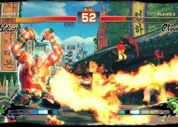 Снимок экрана Супер Стрит Fighter IV