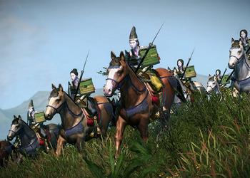 Снимок экрана Total War Shogun 2
