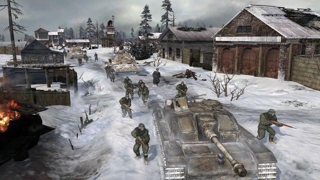 Relic Entretainment объявила начало прикрытого beta-тестирования игры Company of Heroes 2
