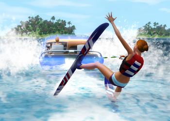 Снимок экрана The Sims 3: Island Paradise