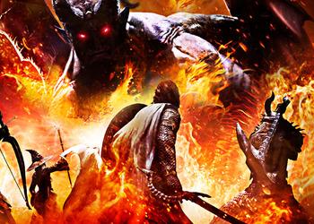 Отрывок бокс-арта Dragon'с Dogma: Dark Arisen