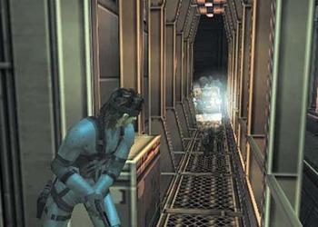 Снимок экрана Metal Gear Solid 2