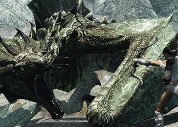 Снимок экрана The Elder Scrolls 5: Skyrim