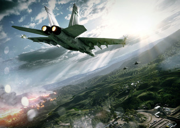 Снимок экрана Battlefield 3