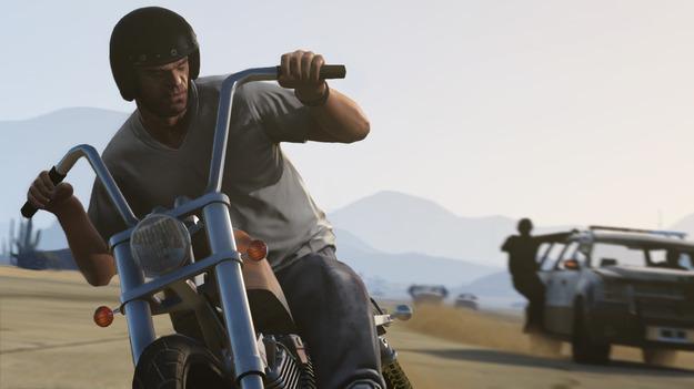 Rockstar обнародовала свежие снимки экрана к игре GTA V