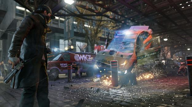 Ubisoft продемонстрировала геймплей игры Watch Dogs на PlayStation 4