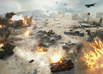 Снимок экрана Command&Conquer: Generals 2