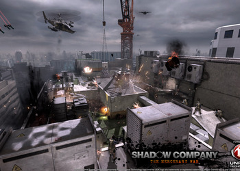 Снимок экрана Shadow Company: The Mercenary War