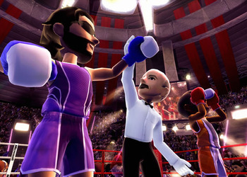 Снимок экрана Kinect Спортс