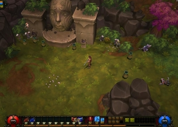 Снимок экрана Torchlight II