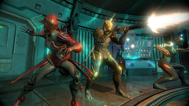 Игра Warframe вышла на ступень открытого beta-тестирования