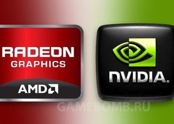Знаки Nvidiа и Radeon