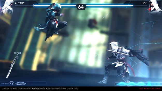 Ubisoft проектировала файтинг для серии игр Assassin'с Creed