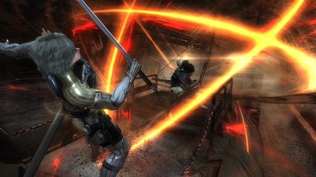 Размещены оценки на игру Metal Gear Rising: Revengeance
