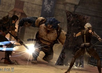 Снимок экрана Dragon Age II