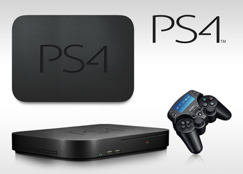 Ориентировочный концепт PlayStation 4