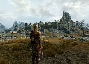 Снимок экрана The Elder Scrolls V: Skyrim