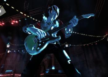 Снимок экрана Rock Band