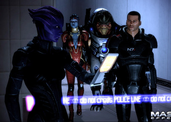 Снимок экрана Mass Effect 2