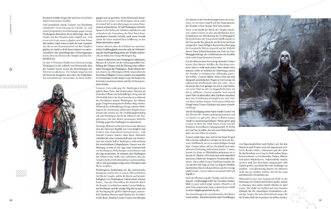 Свежее издание энциклопедии по серии игр Assassin'с Creed  в неестественных супермаркетах