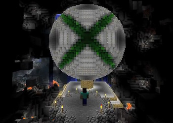 Снимок экрана Minecraft