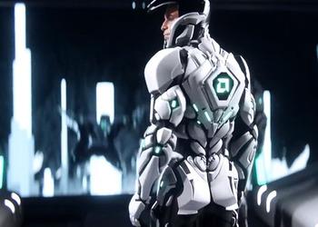 Снимок экрана видео-ролика презентации AMD