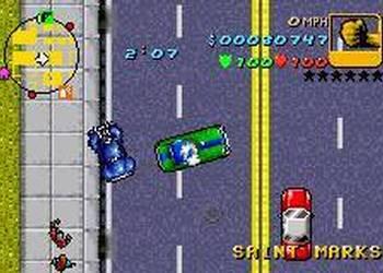Снимок экрана Гранд Theft Авто