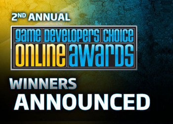 Знак Game Developers Choice On-line Awards