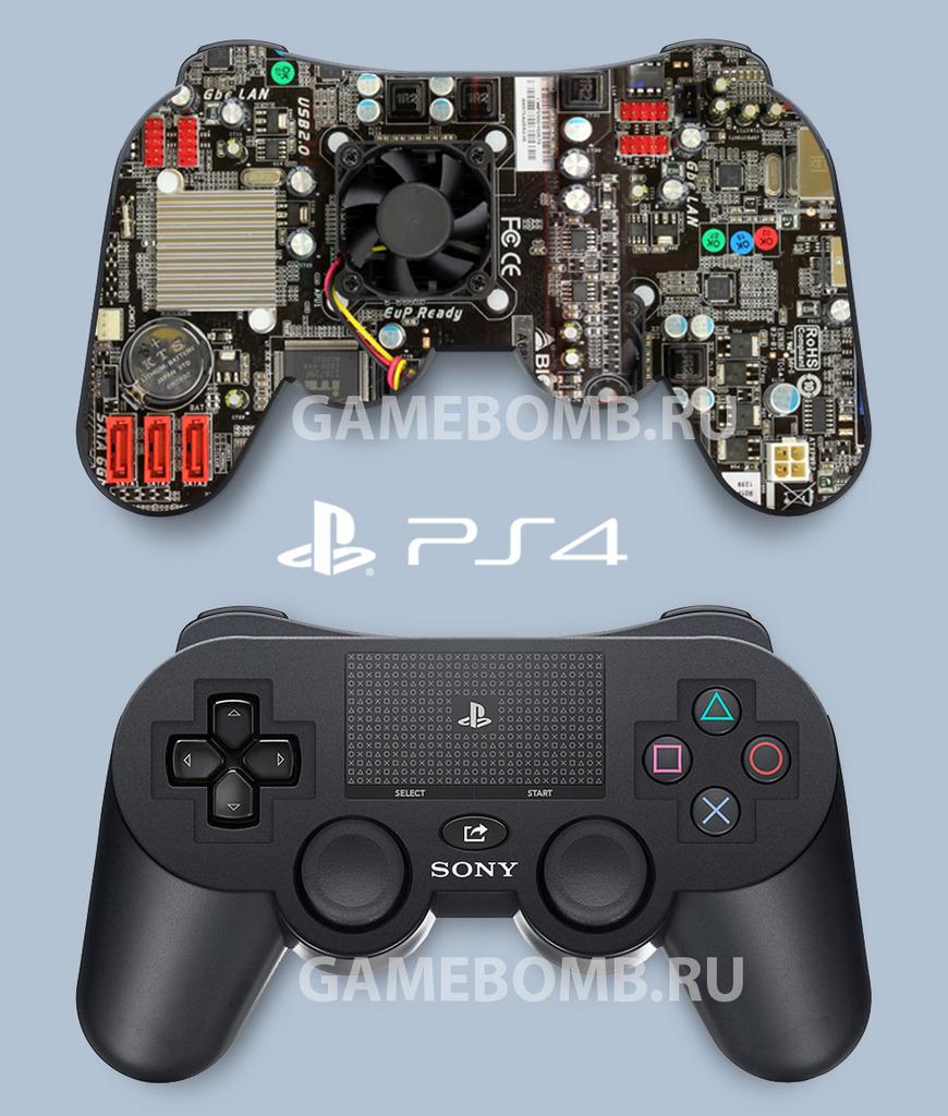 Сони продемонстрировала миру реальный вид PlayStation 4