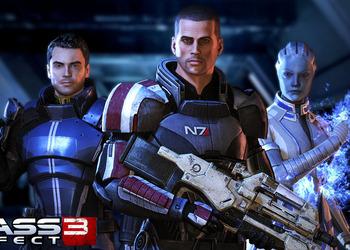 Снимок экрана Mass Effect 3