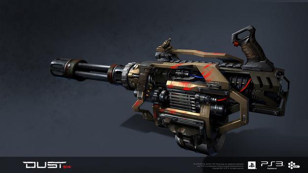 Разработчики DUST 514 показали ружье, которое будет в игре