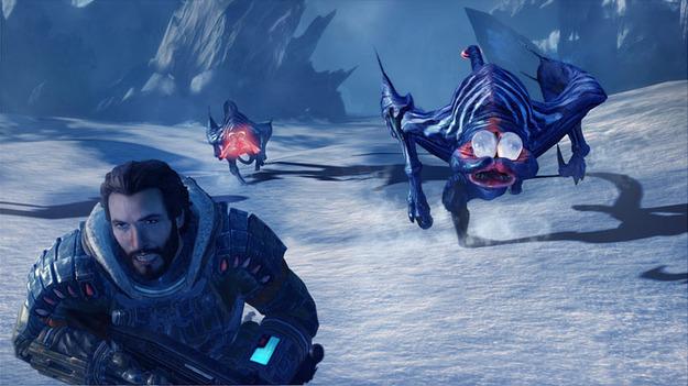 Размещены свежие снимки экрана к игре Lost Planet 3