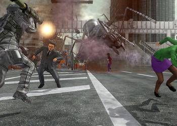 Снимок экрана Earth Defense Force 2025