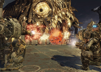 Снимок экрана Gears of War 3