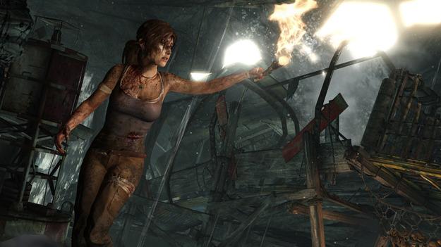 Обнародован свежий видеоролик к игре Tomb Raider