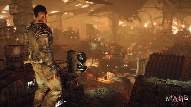 Создатели поделились новой информацией об игре Mars: War Logs