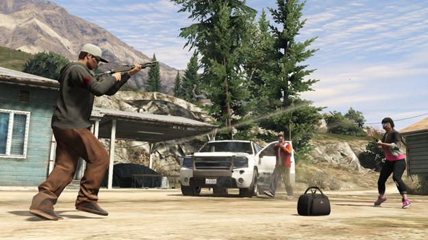 Команда Rockstar Games добавила в игру GTA Online новый режим Capture