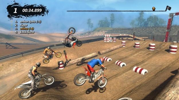 Создатели Trials Evolution исправили систему рейтингов пользовательских трасс в игре