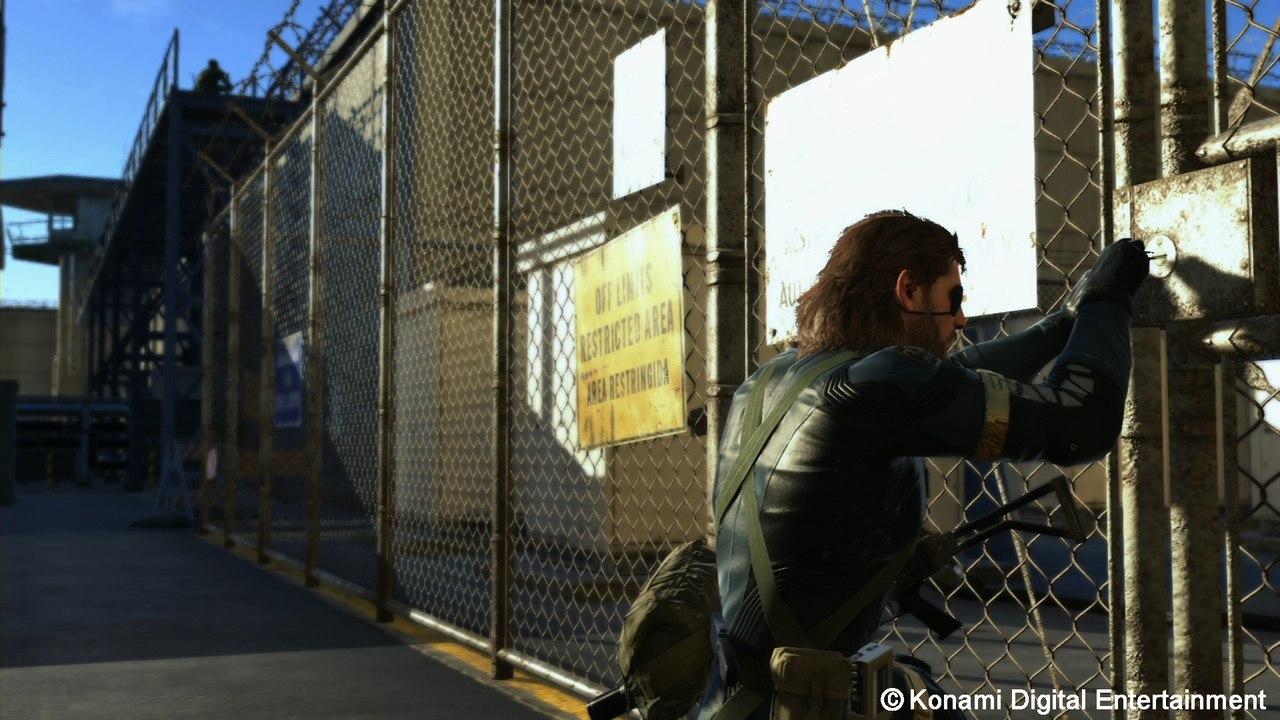 РС версия Metal Gear Solid V: Ground Zeroes будет оснащена поддержкой технологий Nvidia