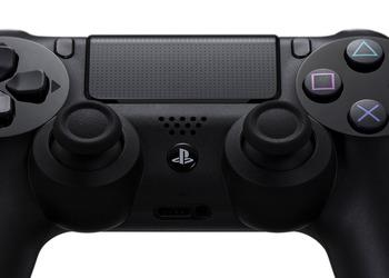 Отрывок фото контроллера PlayStation 4