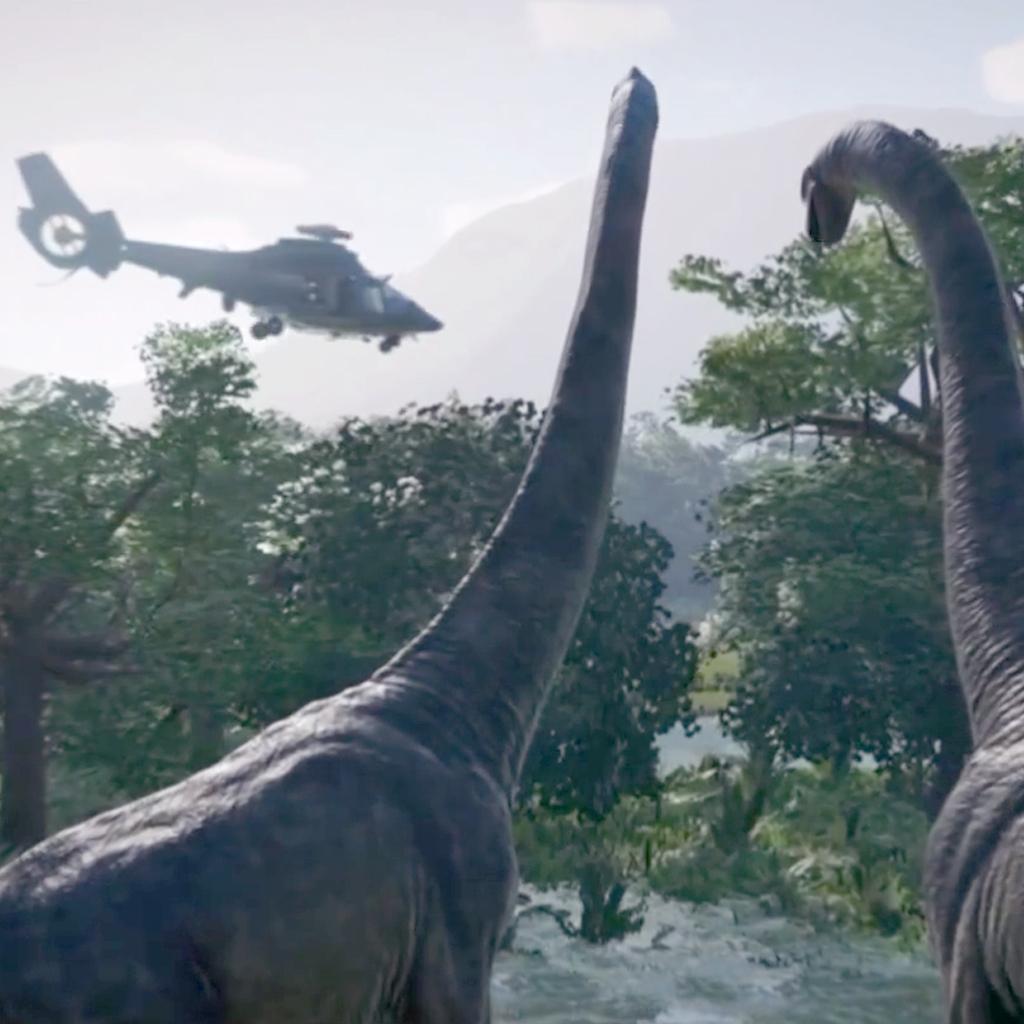Вышел 1-ый трейлер игры Jurassic World Evolution