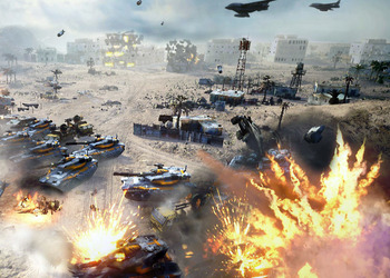 Концепт-арт Command & Conquer: Generals 2
