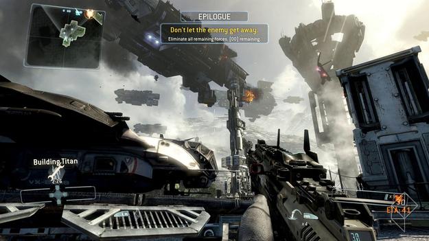 Создатели игры Titanfall поделились деталями о двухуровневой системе схваток Великанов и Гонщиков