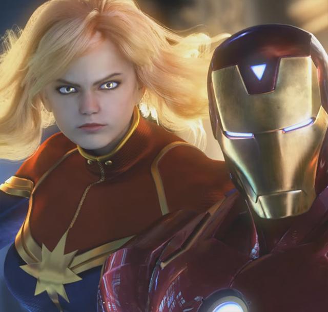 1-ый геймплейный трейлер Marvelvs. Capcom: Infinite