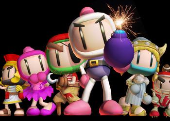 Бокс-арт Bomberman Live: Battlefest