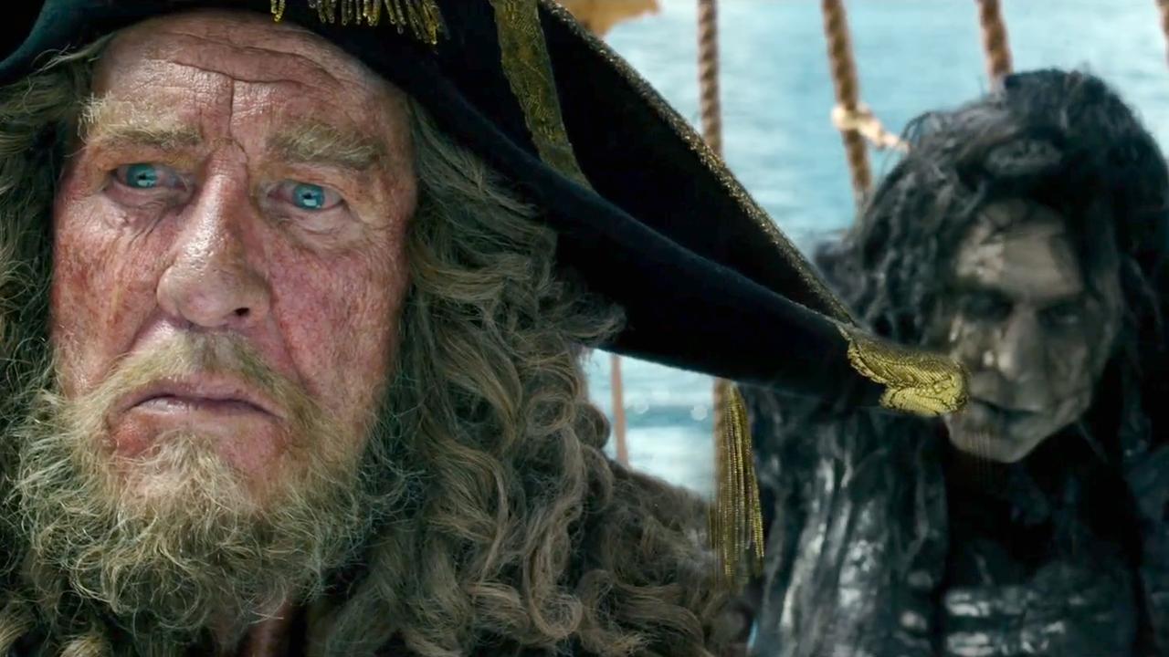 Вышел новый трейлер «Пиратов Карибского моря» сДжонни Деппом