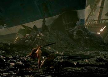 Тизер скриншот из первого трейлера Tomb Raider