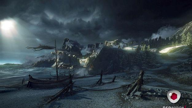 Создатели серии игр Ведьмак продемонстрировали обновленный двигатель REDengine 3