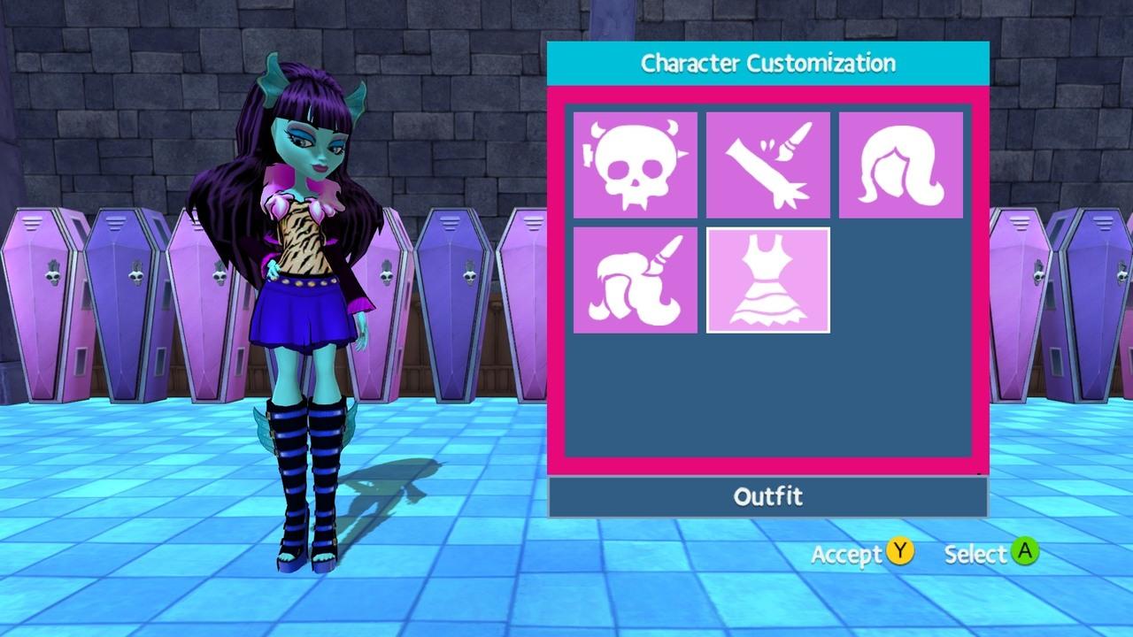 Go girl games monster high free online