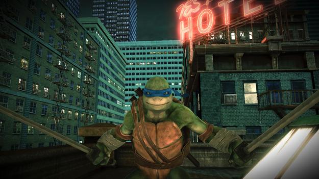 Разработчики новой игры о Черепашках Убийца продемонстрировали Леонардо в новом видеоролике